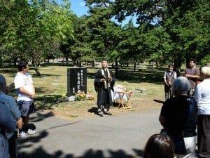 Obon Service 2011