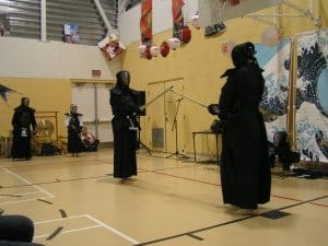 Victoria Kendo Club demonstration at the 2010 VNCS Japanese Cultural Fair